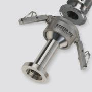 Conector Sani-Lock rápido sanitario. SL
